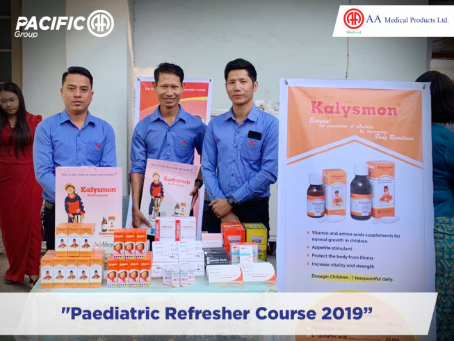 """Paediatric Refresher Course 2019"""