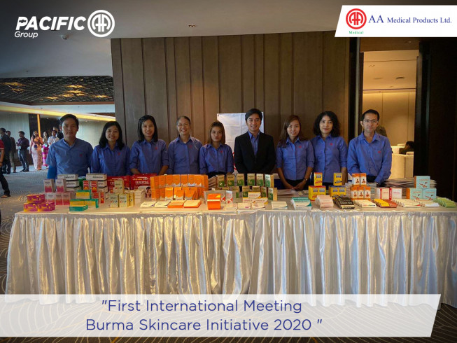 First International Meeting, Burma Skincare Initiative 2020