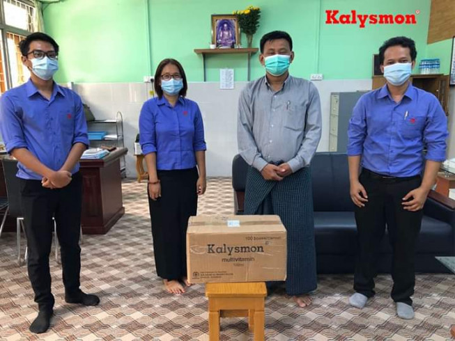 The 1st Donation Activity of Kalysmon